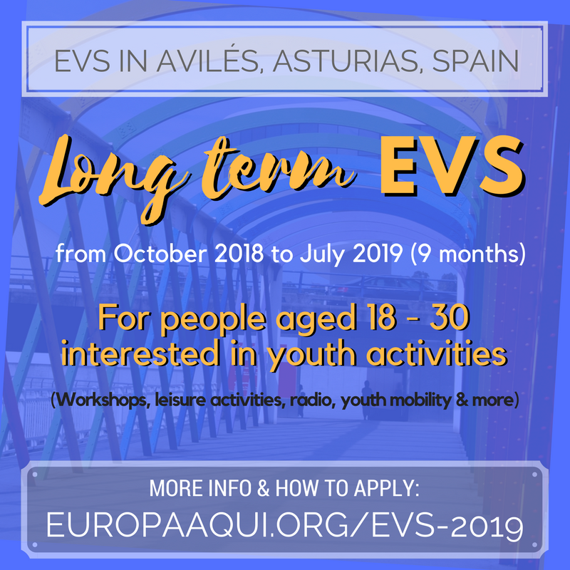 CALL FOR 2 Long term EVS VOLUNTEERS
