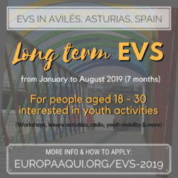 Call for 3 Long Term EVS (ESC) volunteers