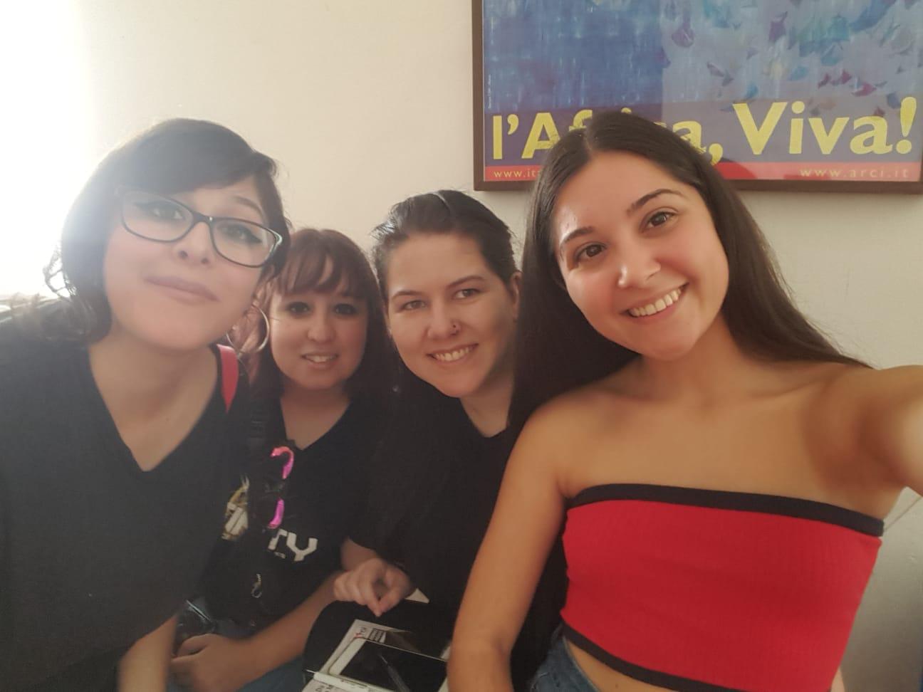 «Map2future» encuentro internacional de jóvenes en Italia