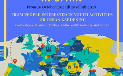 Call ESC volunteers 2019/2020