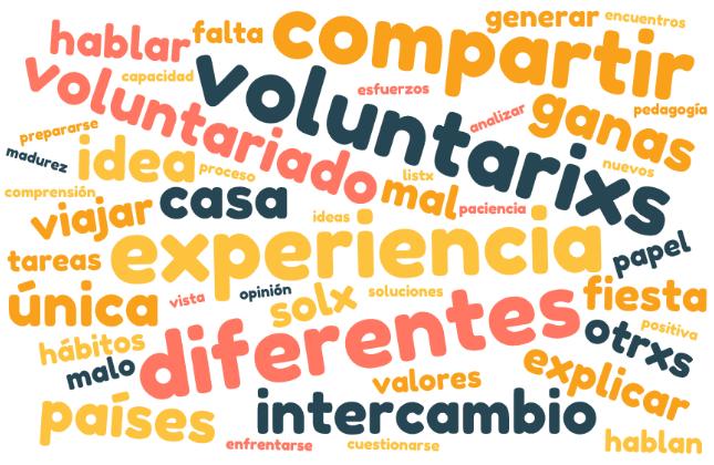 Lo bueno y lo malo de la convivencia entre voluntarixs
