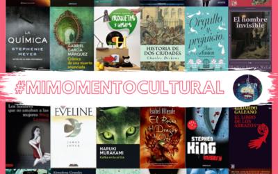 #MiMomentoCultural semana 1: los libros favoritos del grupo de Participa Joven