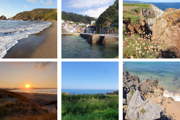 Un mes antes de volver a Francia, mis recuerdos de los paisajes de Asturias