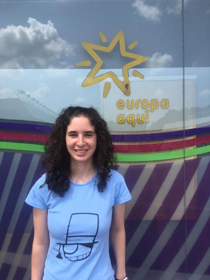 Maria Lozano presenta su proyecto en Dinamarca
