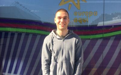 Presentamos a Adrian, nuevo voluntario europeo en Brno.