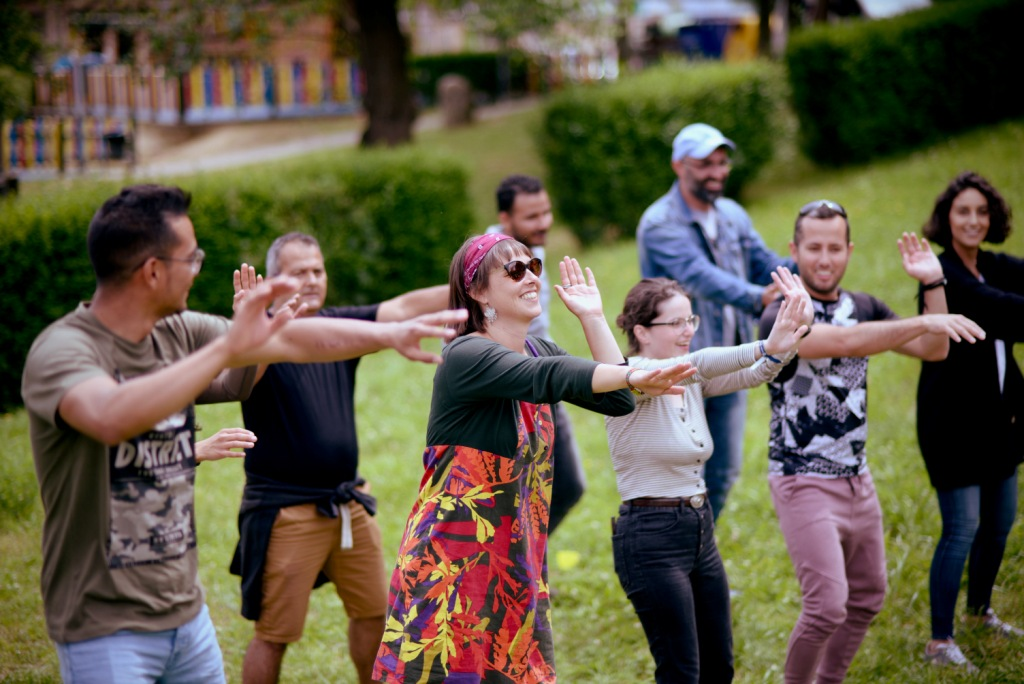 Picnic intercultural en El Bosque Comestible