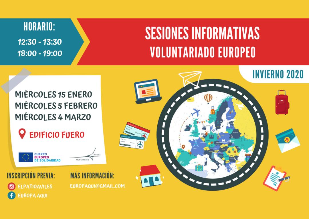 Nuevas charlas informativas sobre el voluntariado europeo CES
