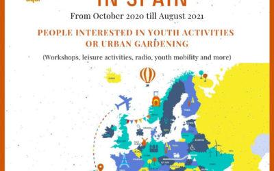 Call ESC volunteers 2020/2021