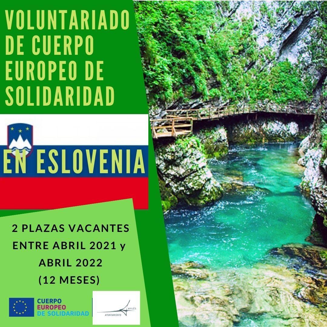 URGENTE – ¡Nueva oferta de voluntariado CES en Eslovenia!