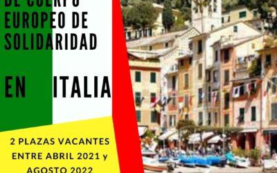 Nueva oferta de voluntariado CES en Italia